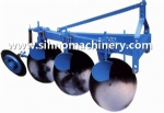 One way side disc plow disc plough