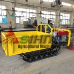 New Design 3 tons Crawler Dumper with world gearbox/rubber track
