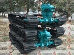 New Design 1.5T Crawler Dumper with world gearbox rubber track