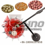 hand push manual corn seeder, Adjustable distance between seeds For corn and beans
