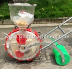 single row hand push manual corn seeder Adjustable distance between seeds